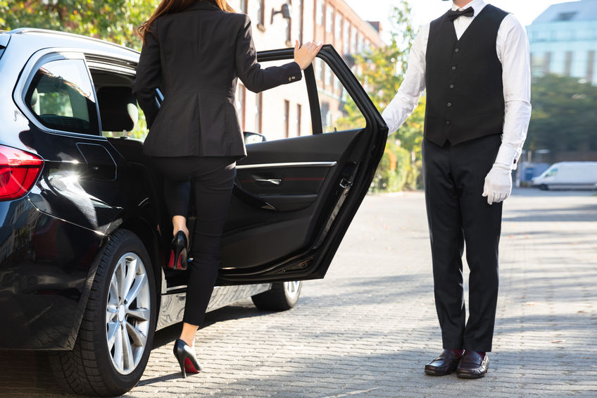 Preparing to Use a Valet Service